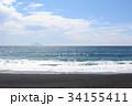 大島町 海 波の写真 34155411