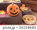 ハロウィン カボチャ お菓子 おもちゃカボチャ ハロウィーンイメージ 34158684