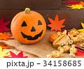 ハロウィン カボチャ お菓子 おもちゃカボチャ ハロウィーンイメージ 34158685