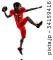 アメフト アメフト選手 アメリカンフットボールの写真 34159416