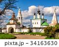 Alexandrovsky monastery in Suzdal, Russia 34163630