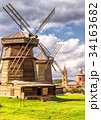Old mills in Suzdal, Russia 34163682