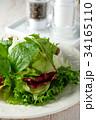 サラダ 洋食 グリーンサラダの写真 34165110