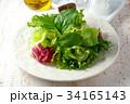 サラダ 洋食 グリーンサラダの写真 34165143