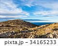 チチカカ湖 湖 タキーレ島の写真 34165233