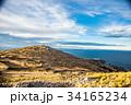 チチカカ湖 湖 タキーレ島の写真 34165234