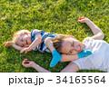ファミリー 家族 おかあさんの写真 34165564