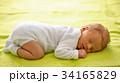 One week old newborn baby 34165829
