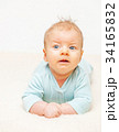 Two months old baby 34165832