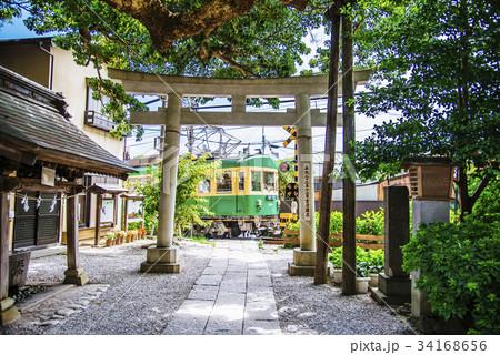 江ノ電 御霊神社 34168656