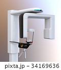 対面位置づけ方式、タッチパネル操作の歯科用パノラマ・CT複合撮影装置のイメージ。オリジナルデザイン 34169636