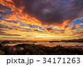 長崎 夕陽 自然の写真 34171263
