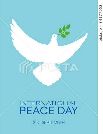 International Day of Peace, beautiful card poster 34177052