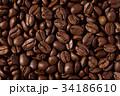 コーヒー豆 豆 焙煎の写真 34186610