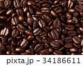 コーヒー豆 豆 焙煎の写真 34186611