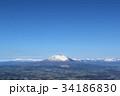 岩手山 風景 山の写真 34186830