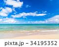 夏 海 ビーチの写真 34195352