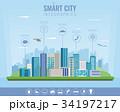 都市 インフォグラフィック 都会的のイラスト 34197217