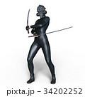 スーパーウーマン剣士  34202252