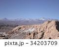 月の谷 奇岩 チリの写真 34203709