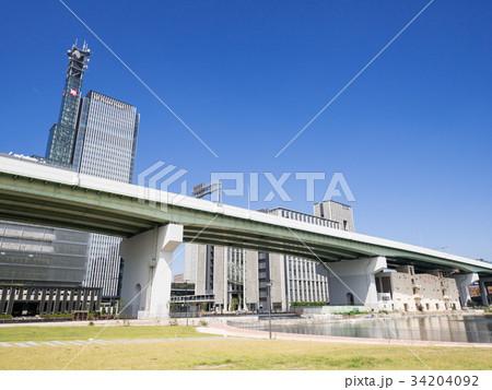 名古屋市中村区 ささしまライブ24地区 堀止緑地 グローバルゲート 34204092