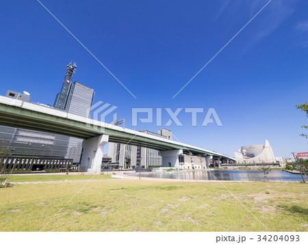 名古屋市中村区 ささしまライブ24地区 堀止緑地 グローバルゲート 34204093