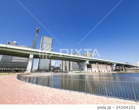 名古屋市中村区 ささしまライブ24地区 堀止緑地 グローバルゲート 34204101