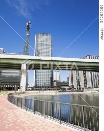 名古屋市中村区 ささしまライブ24地区 堀止緑地 グローバルゲート 34204106