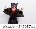 人物 子供 ハロウィンの写真 34205711