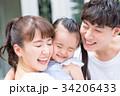娘 親子 家族の写真 34206433