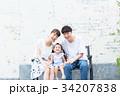 人物 家族 ファミリーの写真 34207838