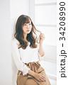 女性 若い ヘアスタイルの写真 34208990