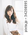 女性 若い ヘアスタイルの写真 34208995