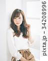 女性 若い ヘアスタイルの写真 34208996