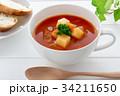 ミネストローネ スープ トマトスープの写真 34211650