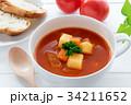 ミネストローネ スープ トマトスープの写真 34211652