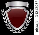 シールド 盾 ベクタのイラスト 34212067