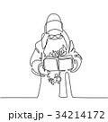 ギフト BOX ボックスのイラスト 34214172