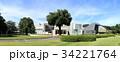 群馬県立近代美術館と群馬県立歴史博物館(パノラマ写真) 34221764