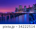 ニューヨーク ニューヨーク州 夕暮の写真 34222514