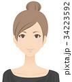 女性 美容 スキンケアのイラスト 34223592