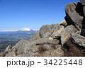 姫神山 岩場 岩手山の写真 34225448