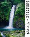 浄蓮の滝 滝 日本の滝百選の写真 34225894