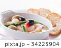 海老のアヒージョ アヒージョ スペイン料理の写真 34225904