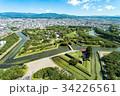 北海道 五稜郭タワーからの風景 34226561