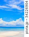 砂浜 海 風景の写真 34226904