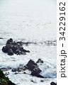 犬吠崎の荒波 34229162