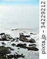 犬吠崎 波 荒波の写真 34229212