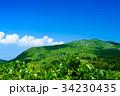 草原 青空 雲の写真 34230435
