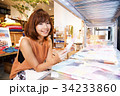 ショッピング 買い物 女性 雑貨 セレクトショップ 撮影協力:TENOHA DAIKANYAMA 34233860